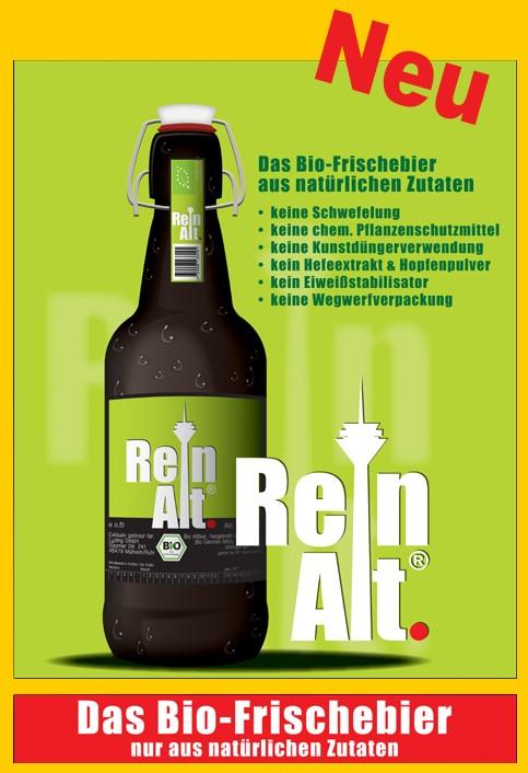ReinAlt - Das neue Bio Frischebier